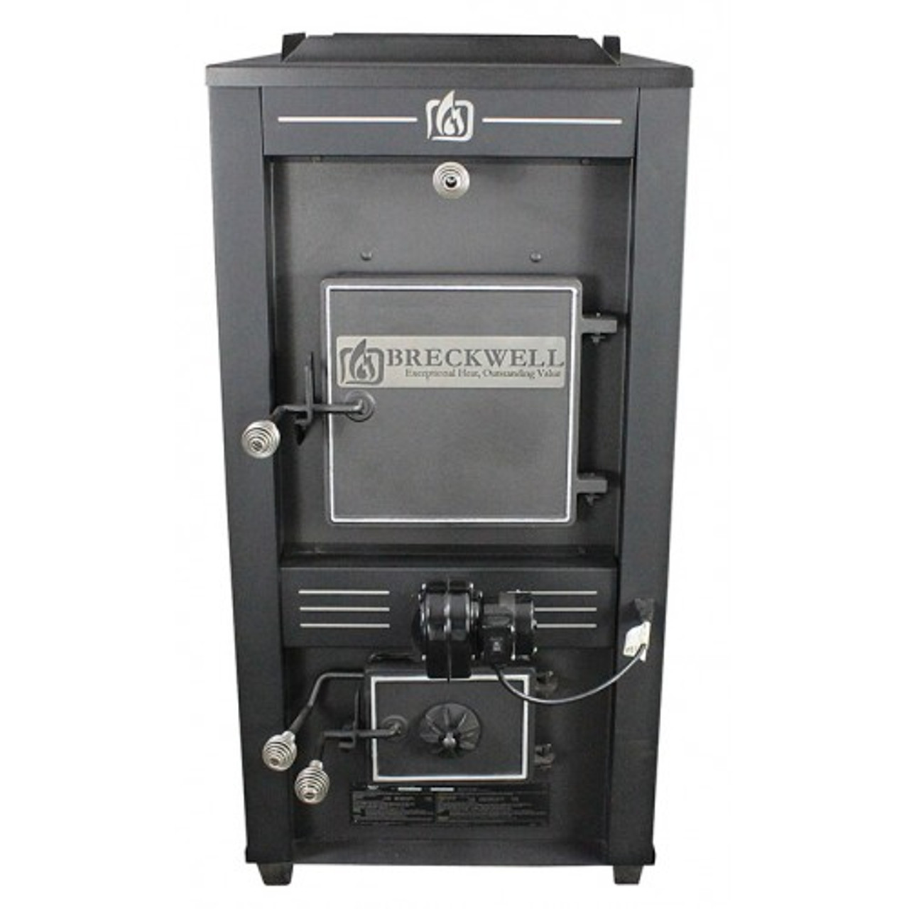 Breckwell SF747 Coal/Wood Furnace front