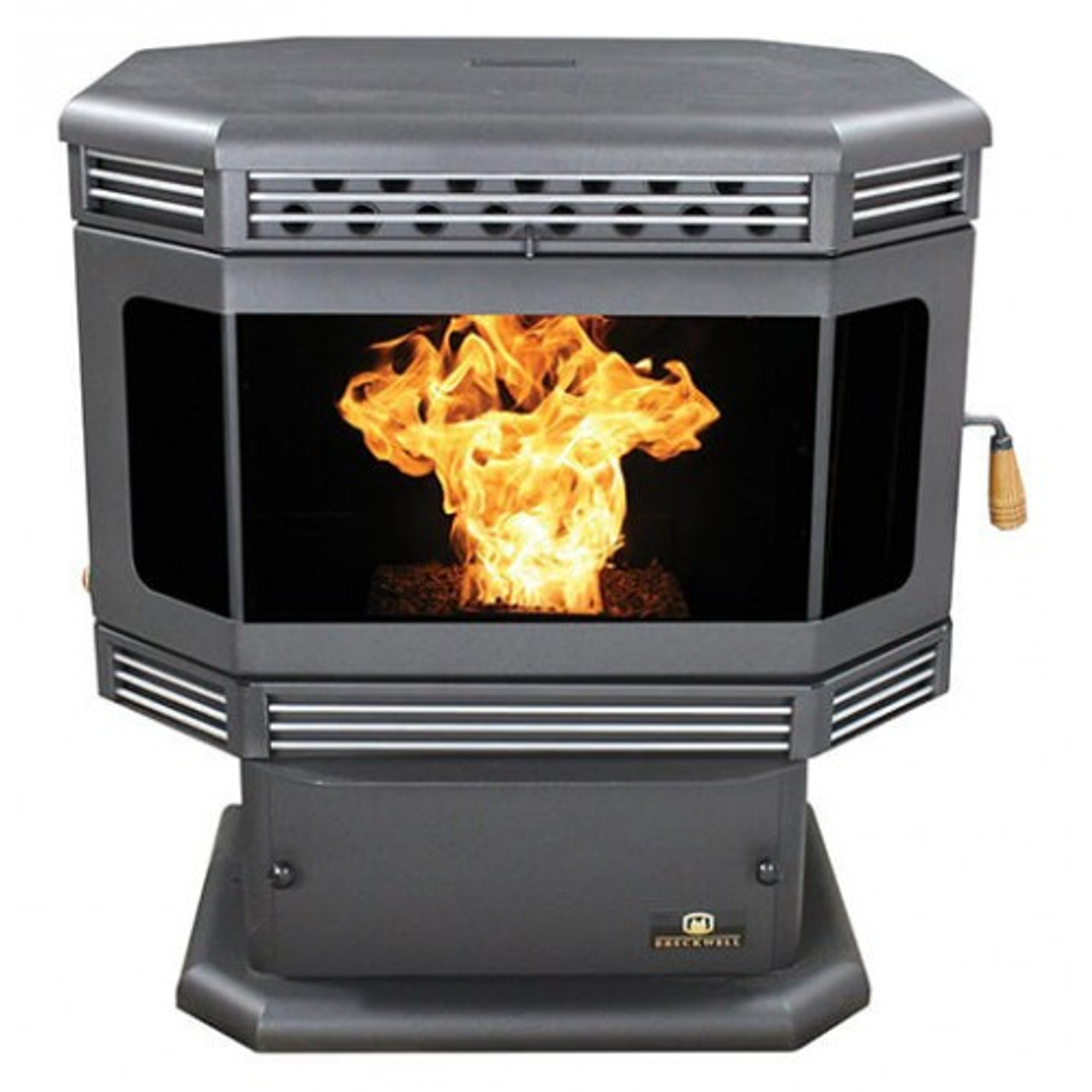 Breckwell SP2000 Tahoe Bay Front Pellet Stove Front