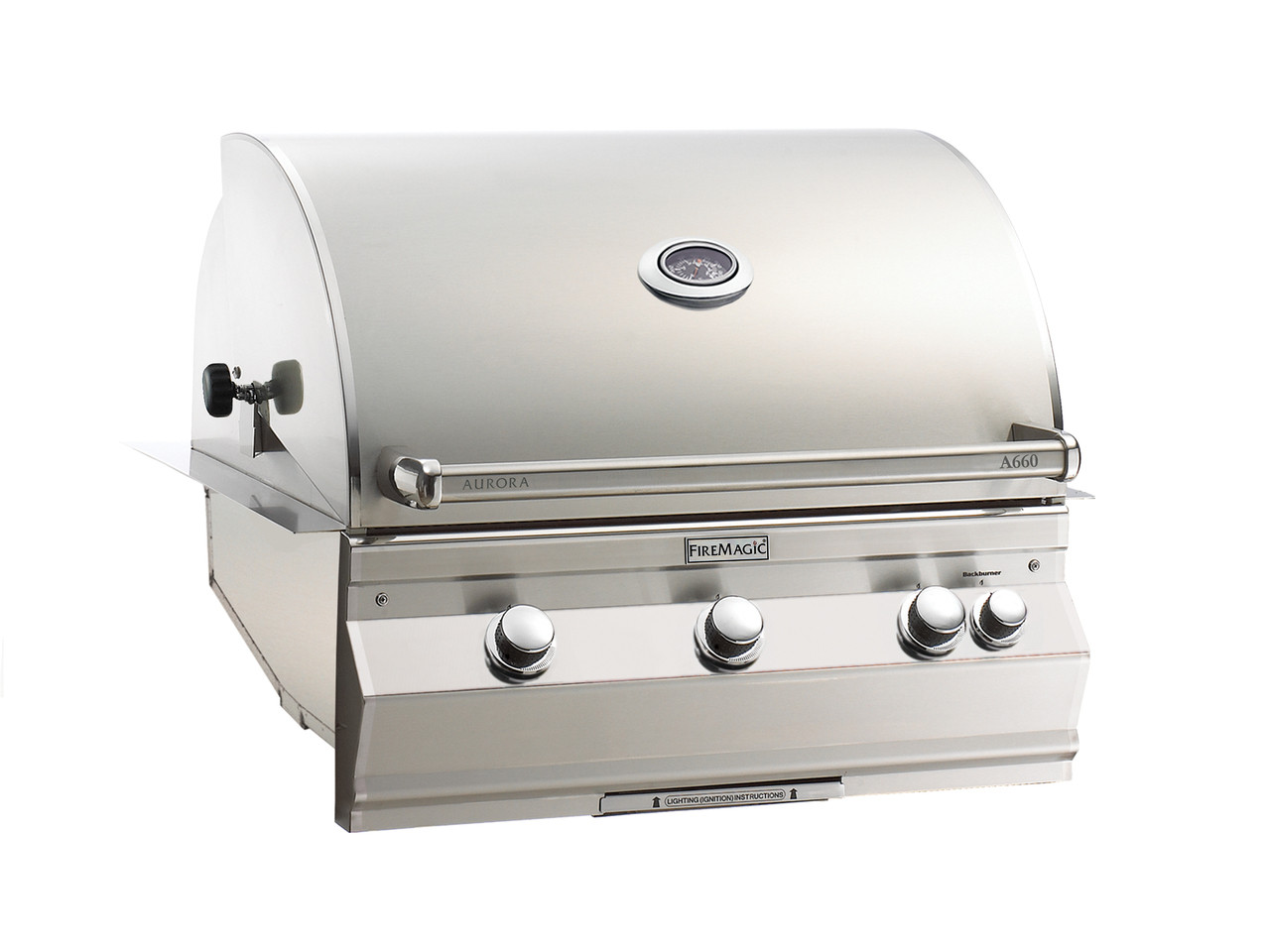 Firemagic Aurora A660i Built-In Grill - Analog Style