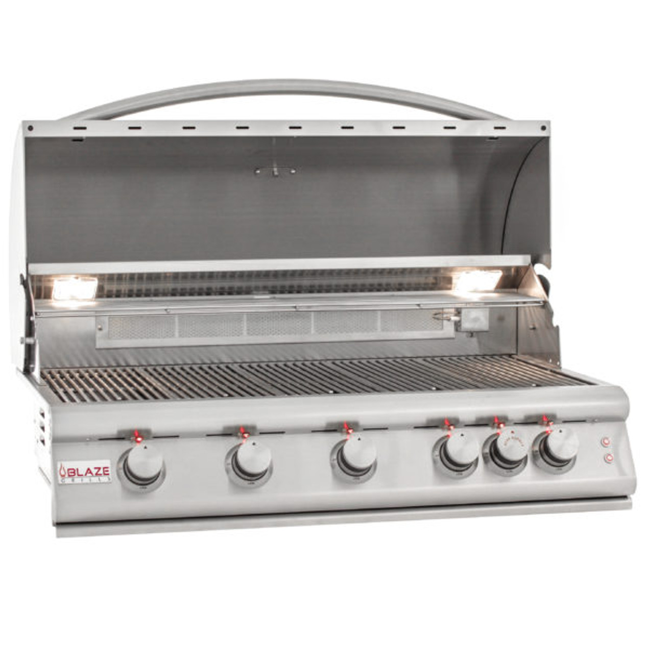 Blaze 5 Burner LTE Grill Built-In Propane Gas Grill with Lights