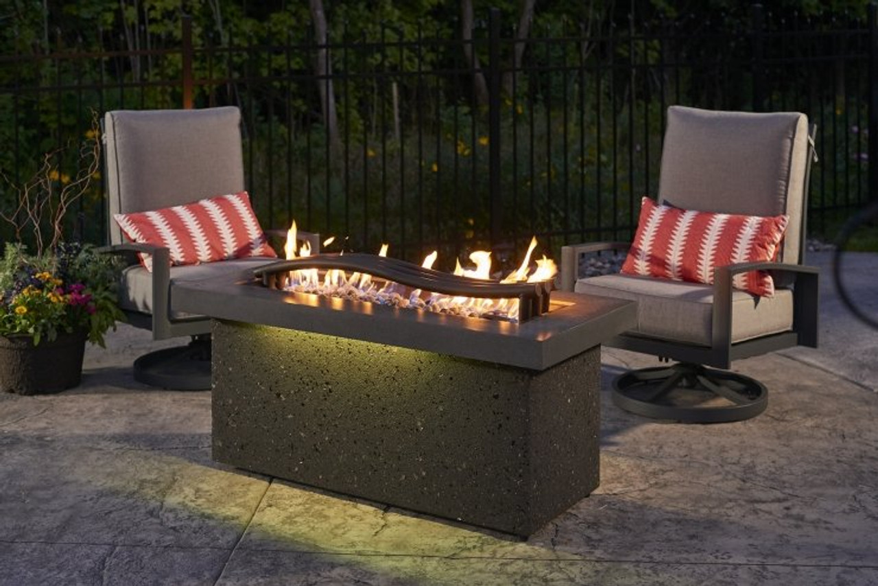 Outdoor Greatroom Boreal Complete Heat Linear Fire Pit