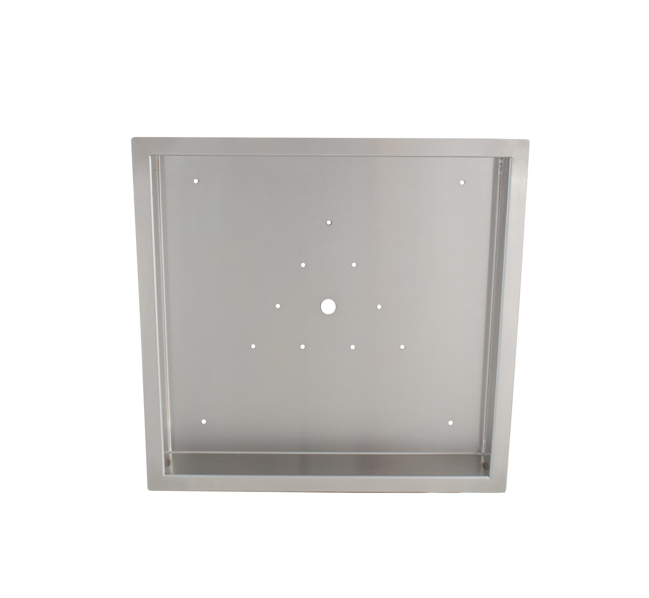 Firenado 36-Inch Drop-In Square Stainless Steel Burner Pan