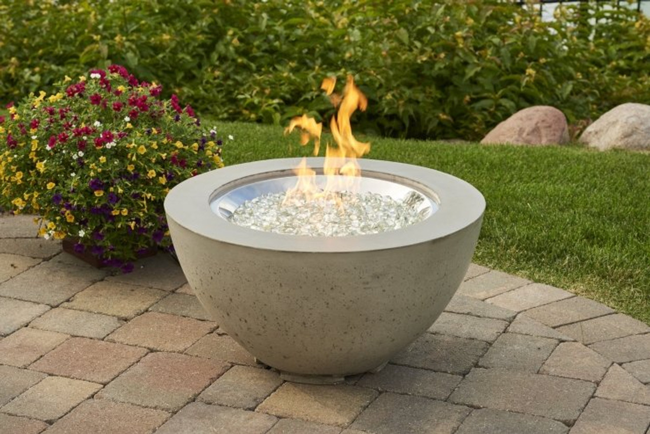 """Outdoor Greatroom Cove 20"""" Gas Fire Pit Bowl"""