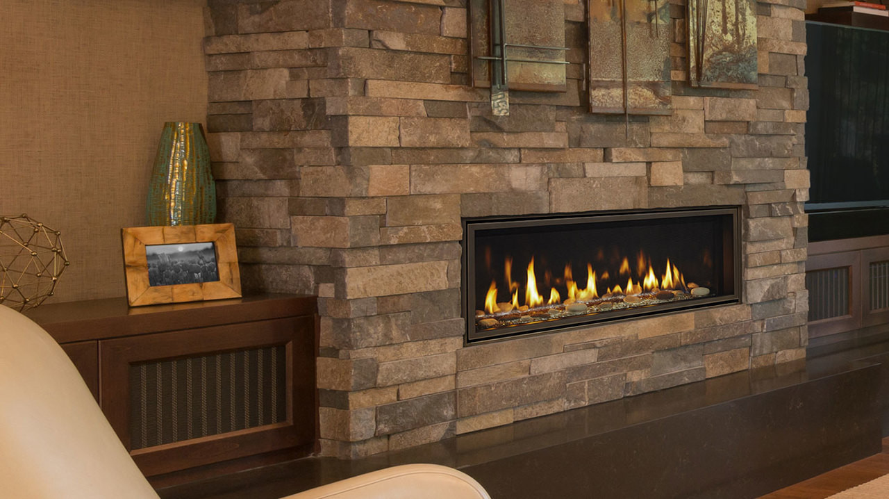 "Majestic Echelon II 36"" Direct Vent Gas Fireplace with IntelliFire Plus Ignition System (NG)"