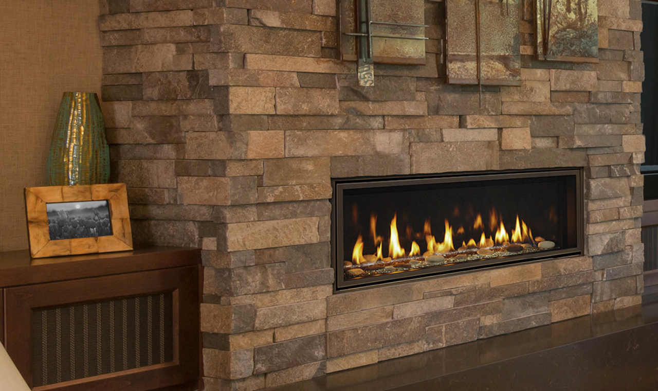 "Majestic Echelon II 48"" Direct Vent Gas Fireplace with IntelliFire Plus Ignition System (NG)"