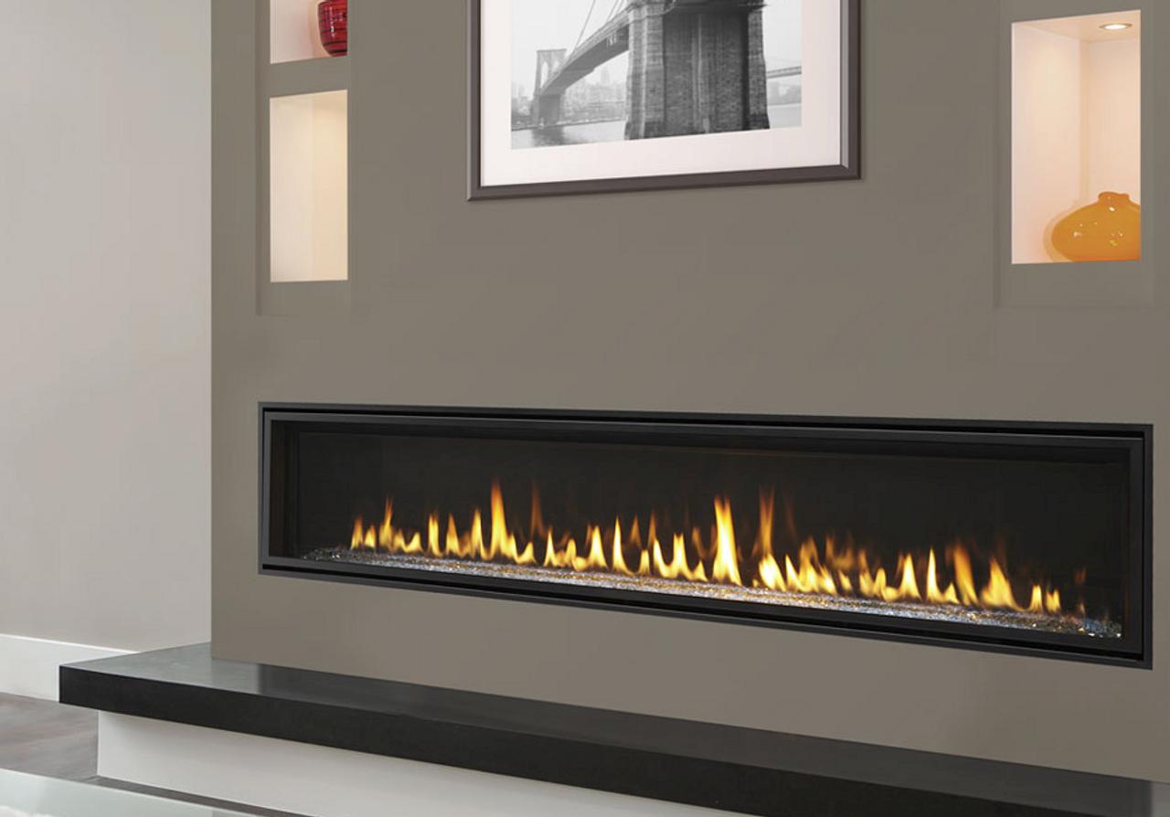 Majestic Echelon Ii 72 Direct Vent Gas Fireplace With Intellifire