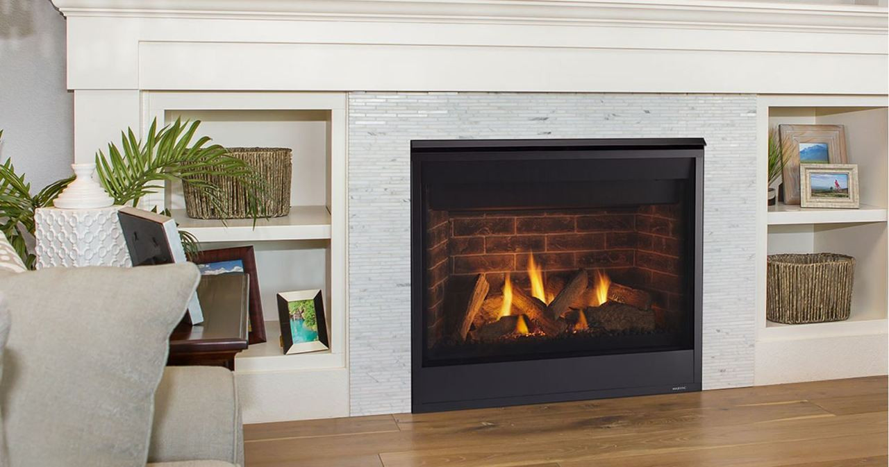 """Majestic Quartz 42"""" Top/Rear Direct Vent Fireplace with ... on Embers Fireplaces & Outdoor Living id=60199"""