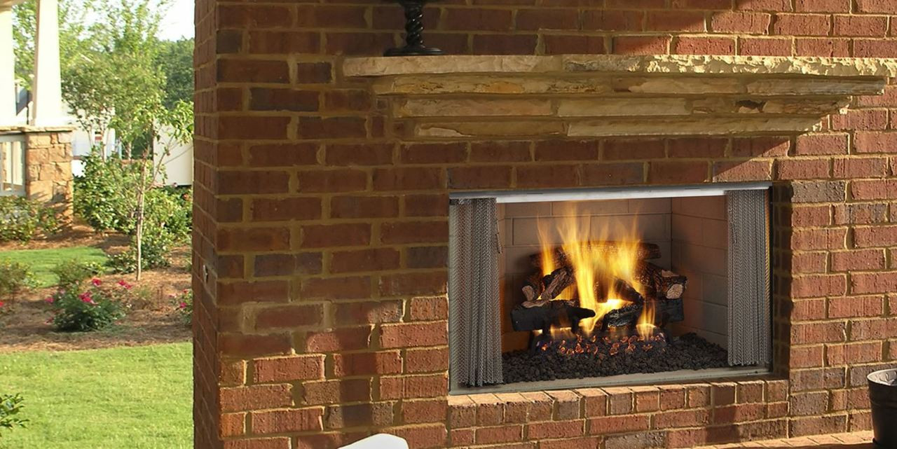 """Majestic Villawood 36"""" Outdoor Wood Fireplace - Embers ... on Embers Fireplaces & Outdoor Living id=76789"""