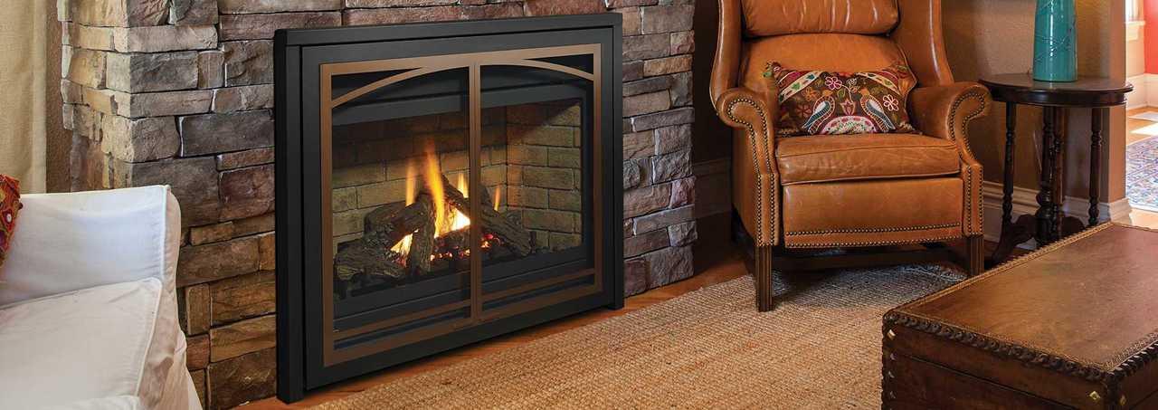 Regency Panorama® P36 & P36E Medium Gas Fireplace