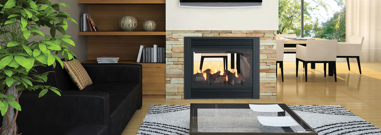 Regency Panorama® P121 Large Gas Fireplace