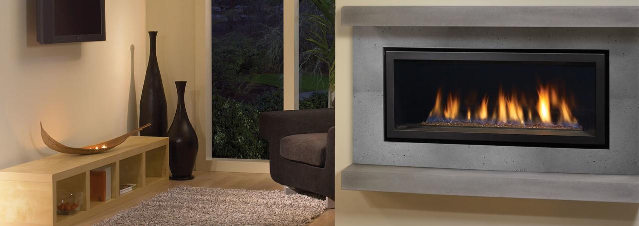 Regency Horizon HZ40E - Contemporary Gas Fireplace