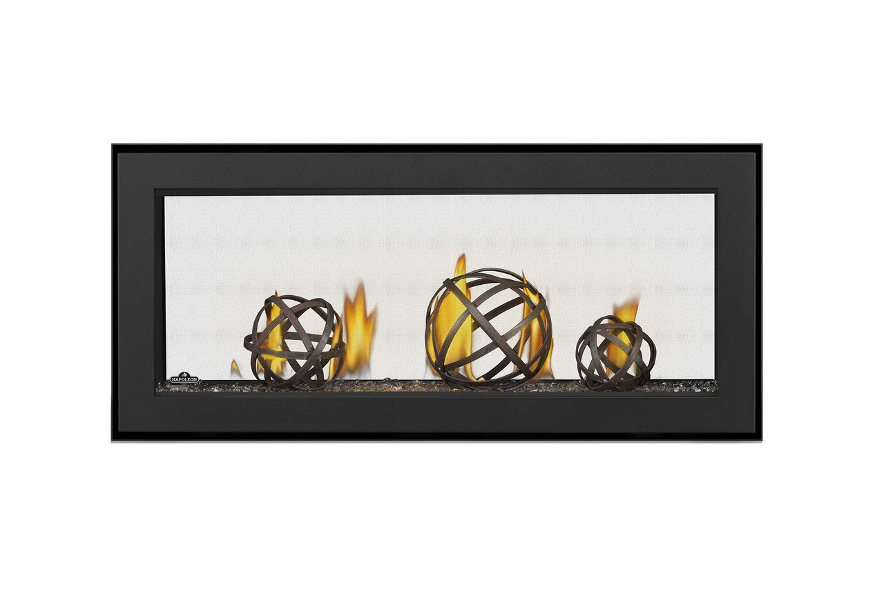 """Napoleon Vector 38"""" See Thru Direct Vent Gas Fireplace - LV38N2-1"""