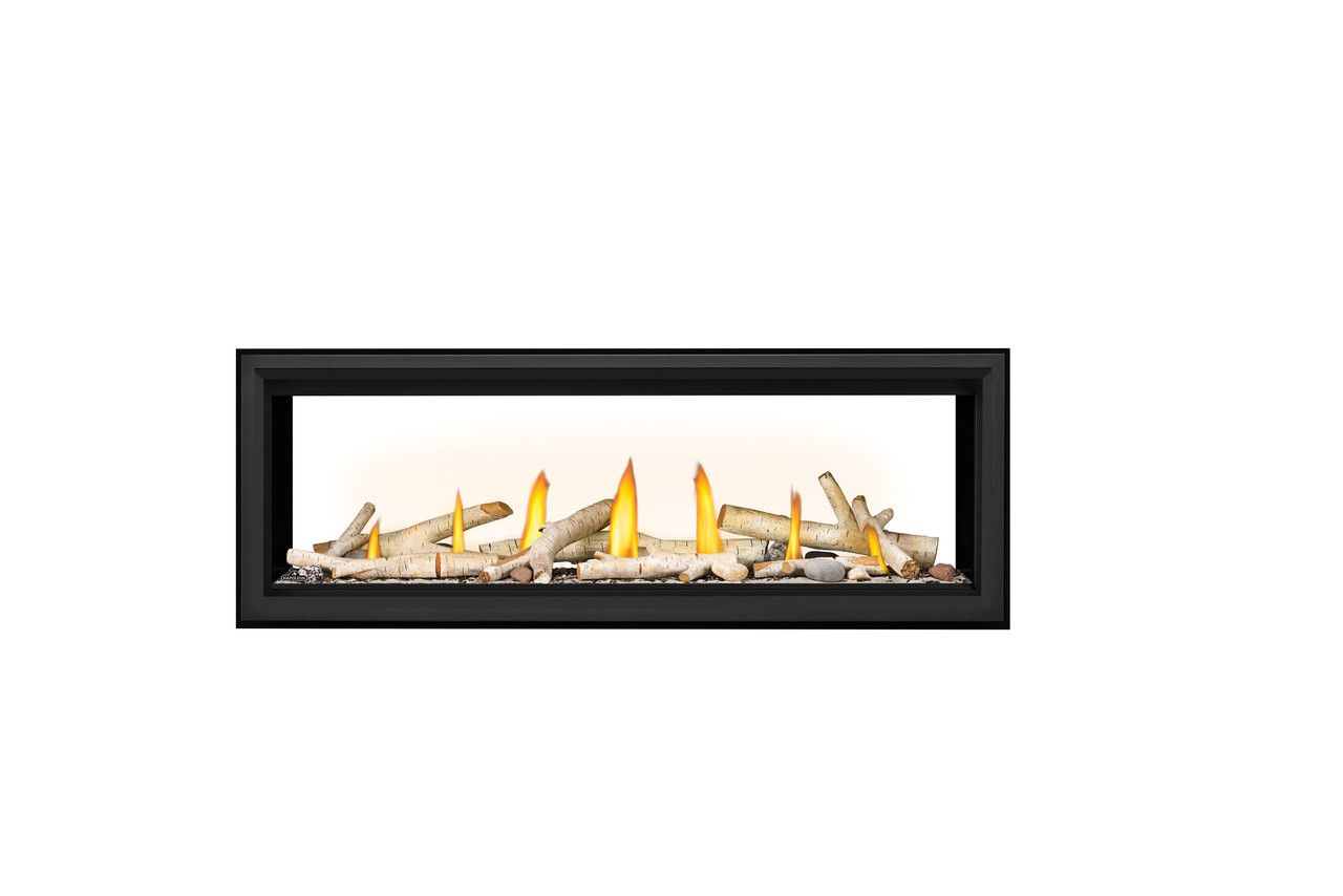 """Napoleon Vector 50"""" See Thru Direct Vent Linear Fireplaces - LV50N2-2"""