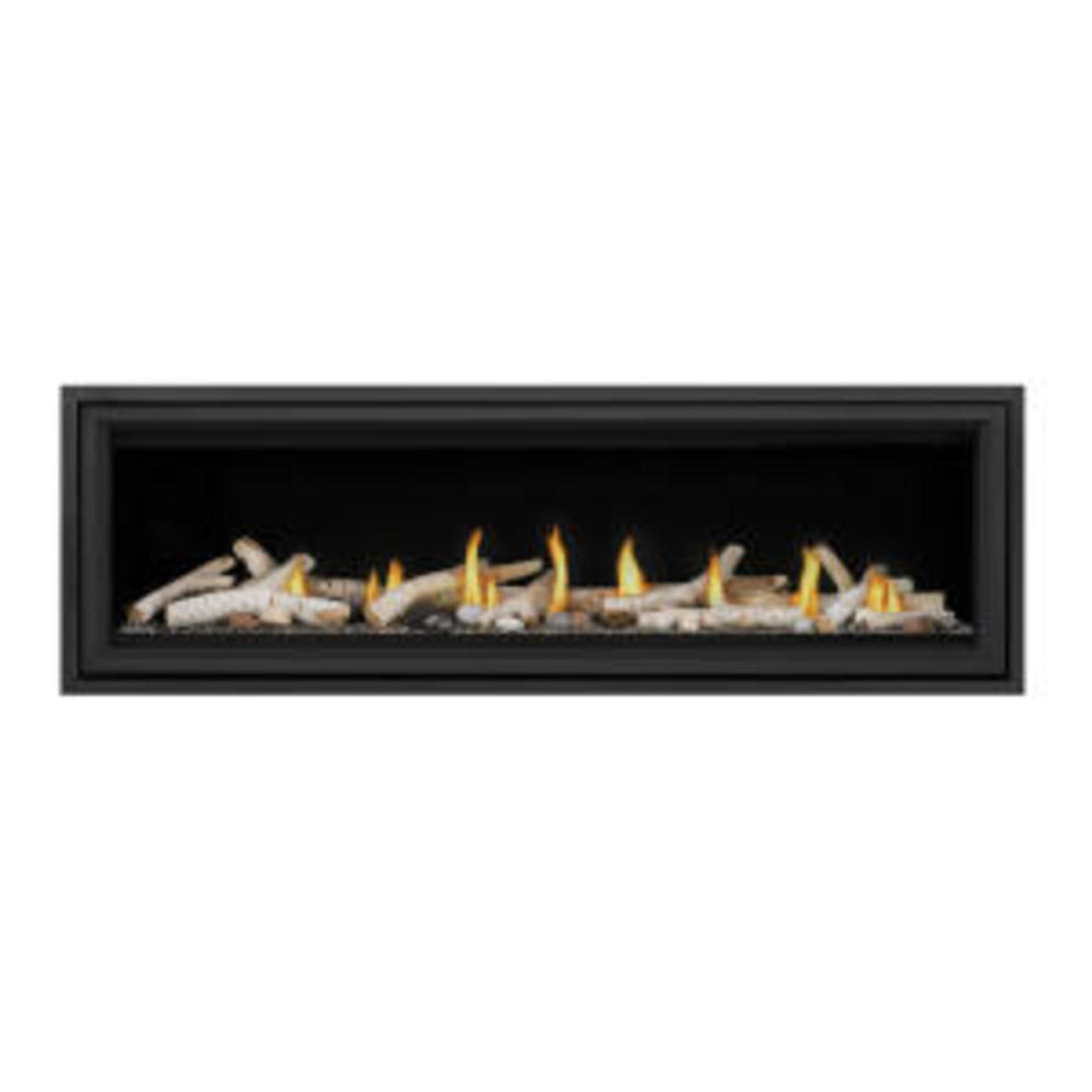 "Napoleon Vector 62"" Single Sided Direct Vent Gas Fireplace - LV62N"