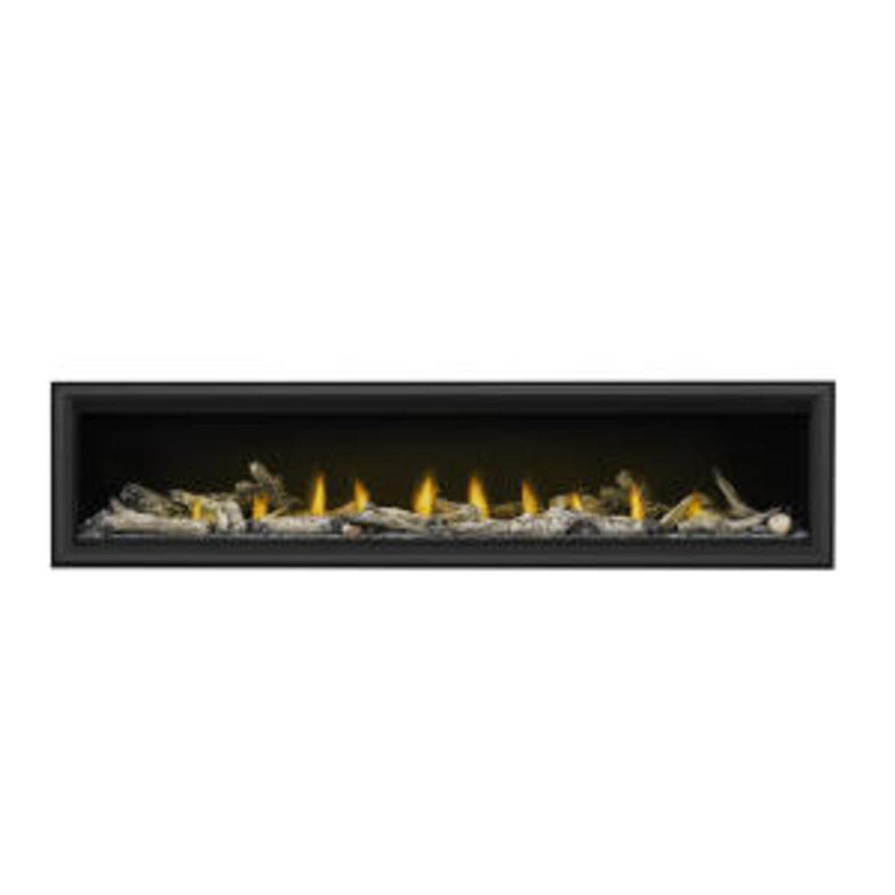 """Napoleon Vector 74"""" Single Sided Direct Vent Gas Fireplaces - LV74N"""