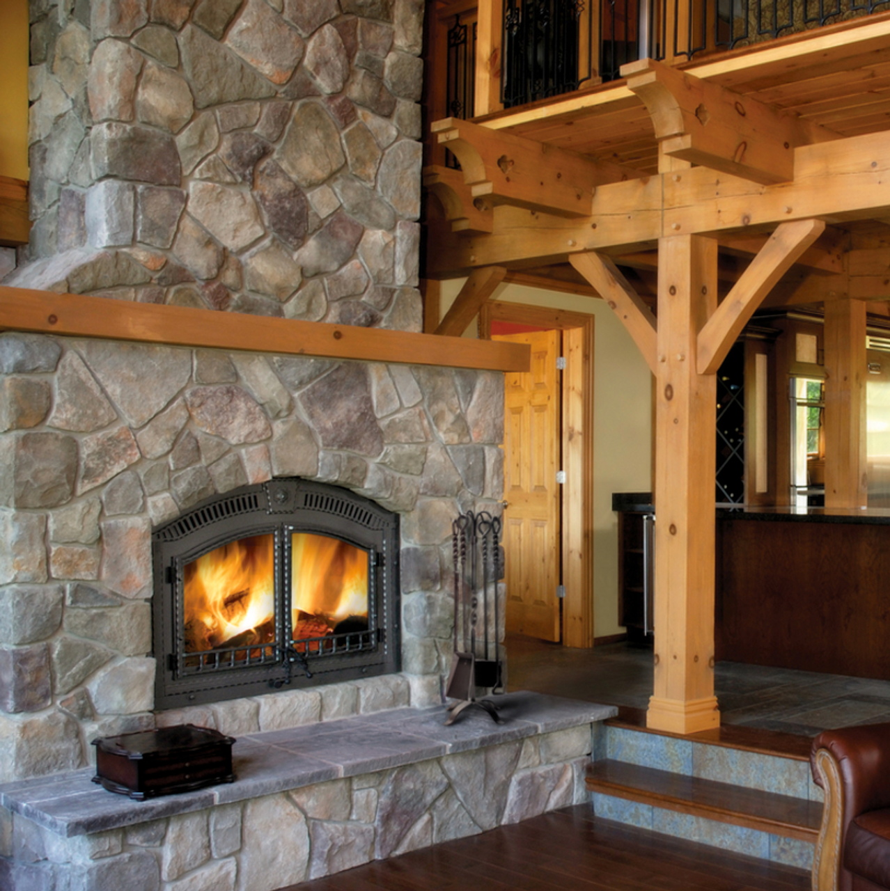 Napoleon High Country™ 6000 Wood Fireplace - NZ6000-1 ... on Embers Fireplaces & Outdoor Living id=55891