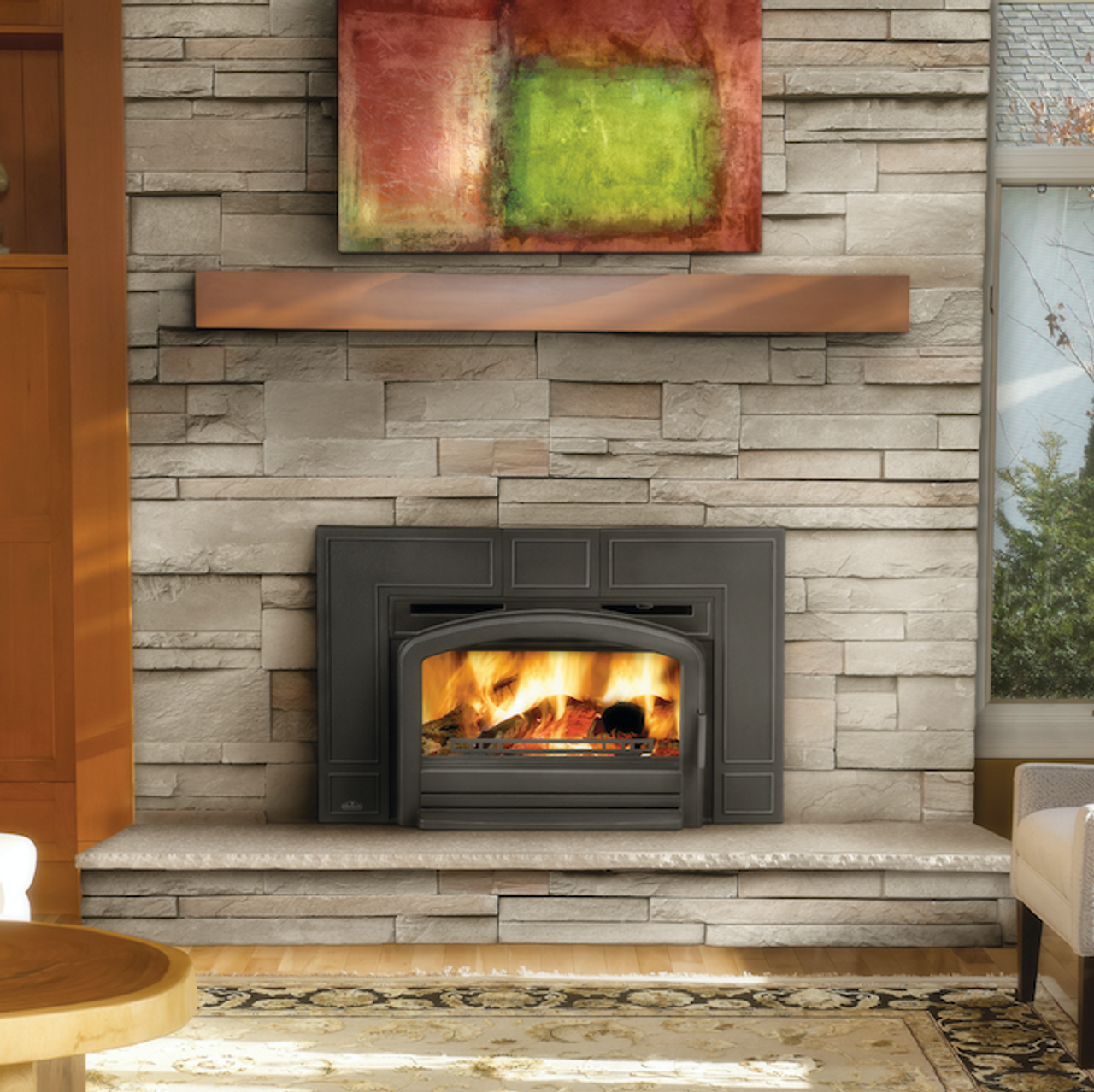 Napoleon Oakdale™ EPI3 Wood Fireplace Inserts - Embers ... on Embers Fireplaces & Outdoor Living id=45364