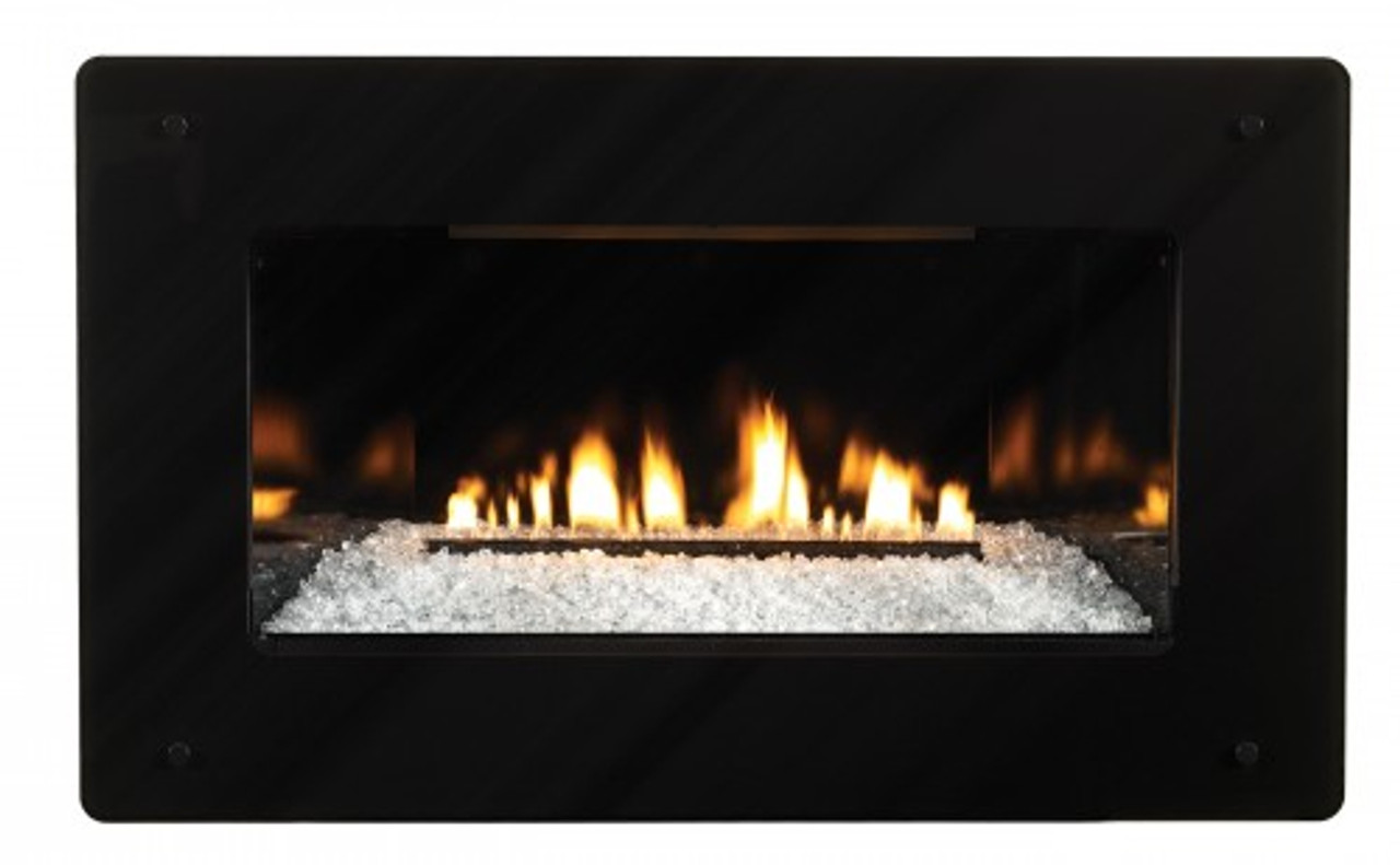 Empire Loft Vent-Free Cleanface Insert/Fireplace with Barrier - Zero Clearance - Millivolt Control with On/Off Switch - Btu 28,000 - VFL28IN32