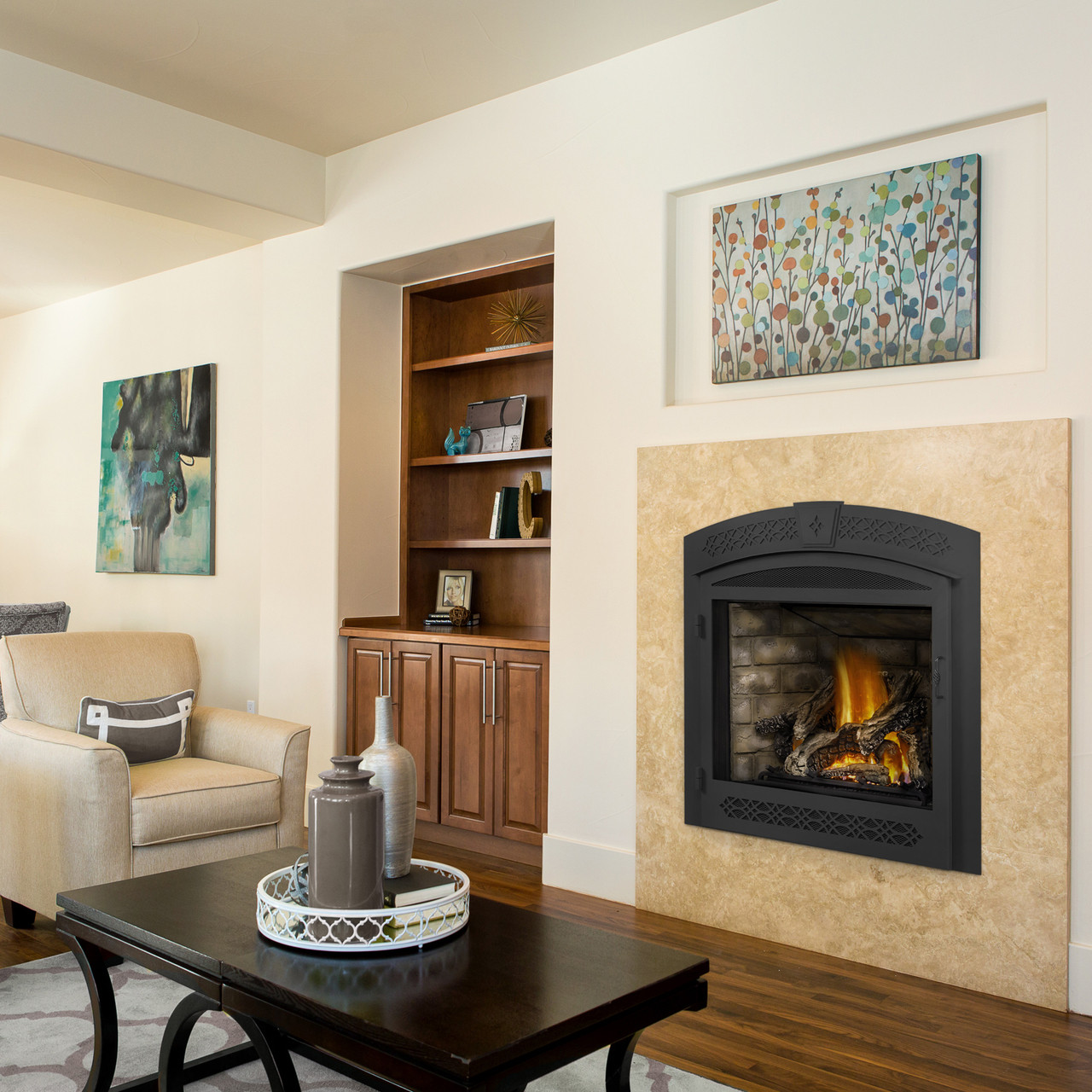 Napoleon Ascent™ X 70 Direct Vent Gas Fireplace - GX70 ... on Embers Fireplaces & Outdoor Living id=55448