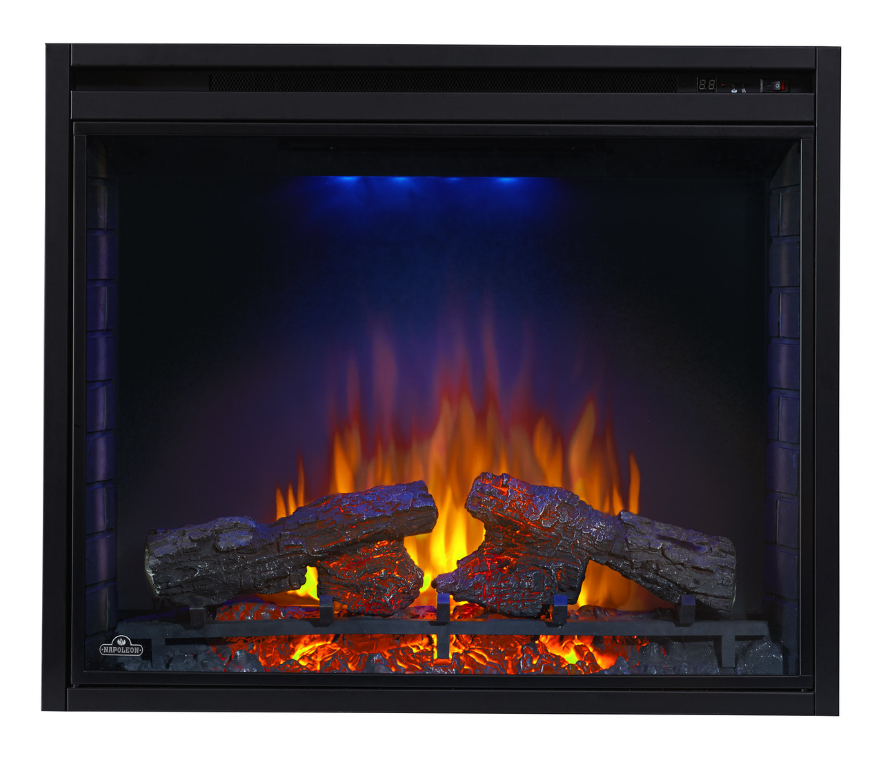 "Ascent 40""  Fireplace -Blue"