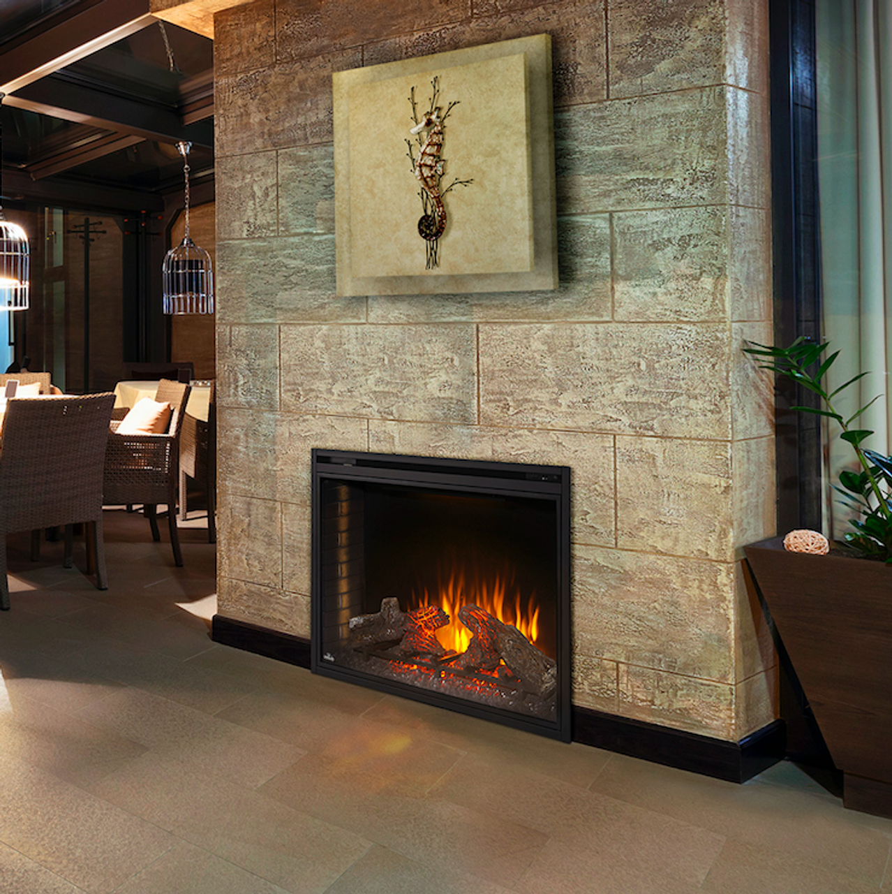 """Napoleon Ascent 40"""" Electric Fireplace"""