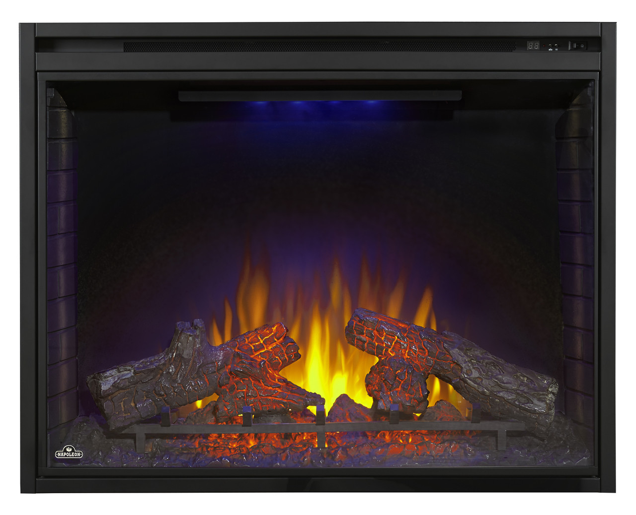 Ascent Electric Fireplace - Blue