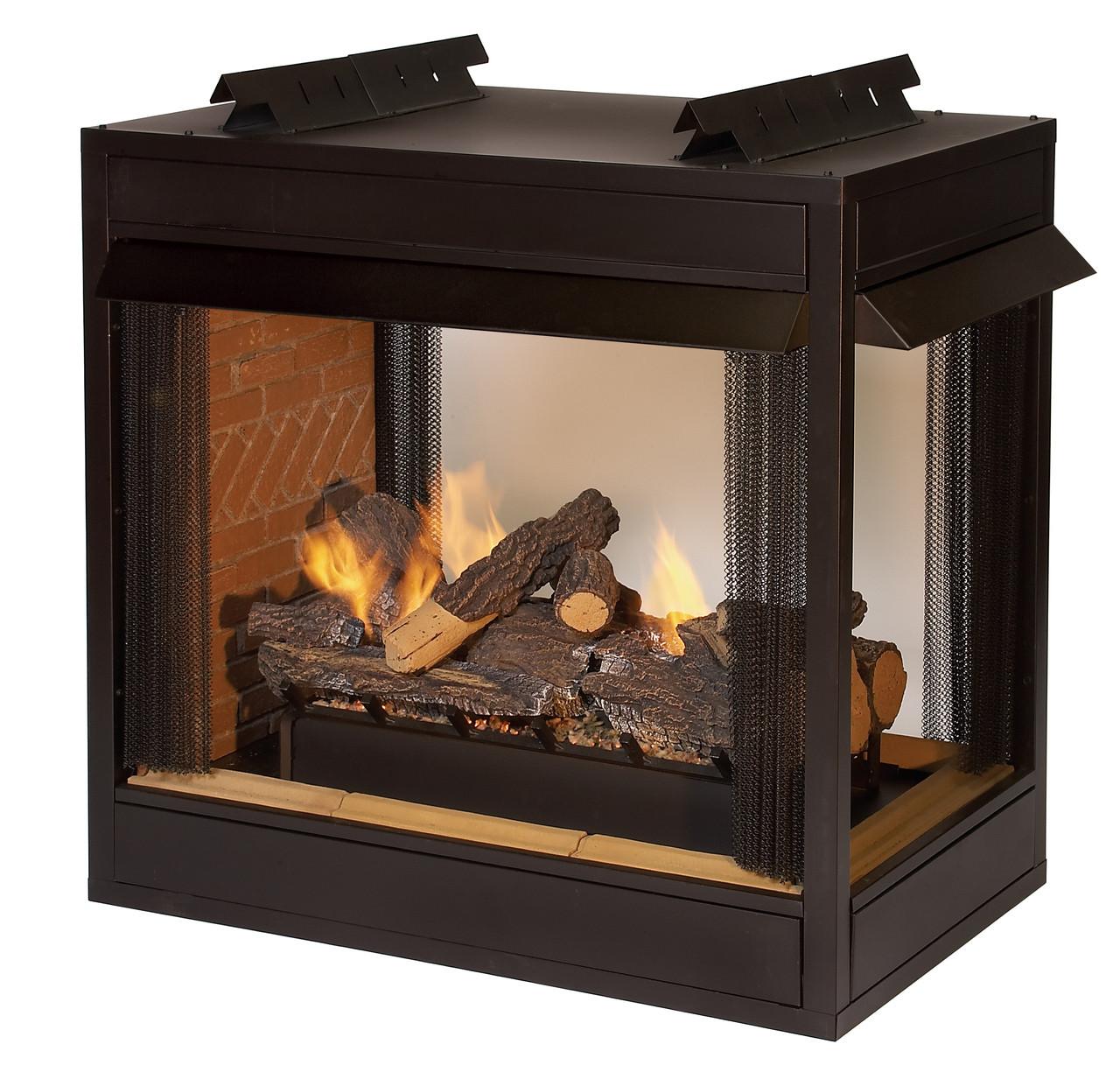 Empire Breckenridge Vent-Free Premium 36 Peninsula Firebox - VFP36PB2
