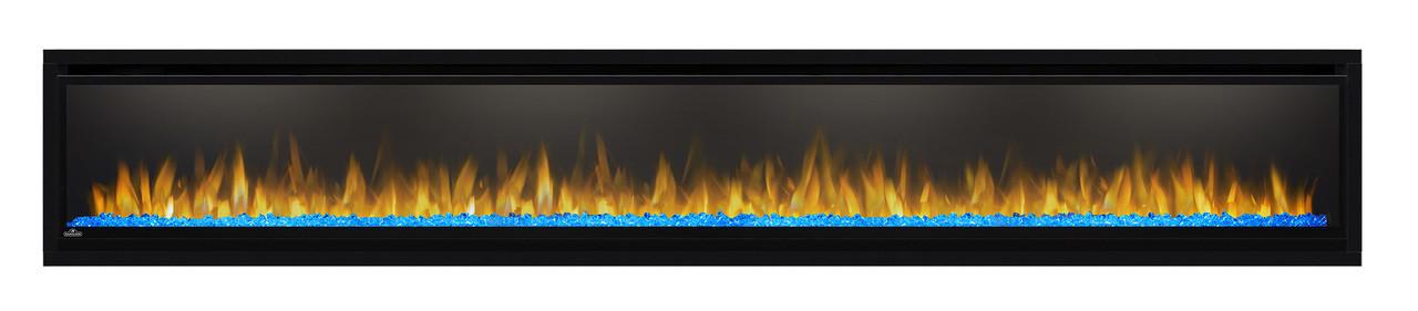 Napoleon Alluravision™ 100 Deep Depth Electric Fireplace - Glass Front, Black - NEFL100CHD