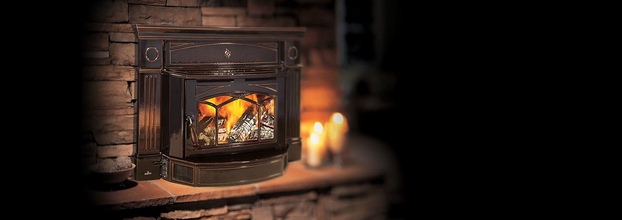 Hampton® Medium Cast Iron Wood Insert - HI300