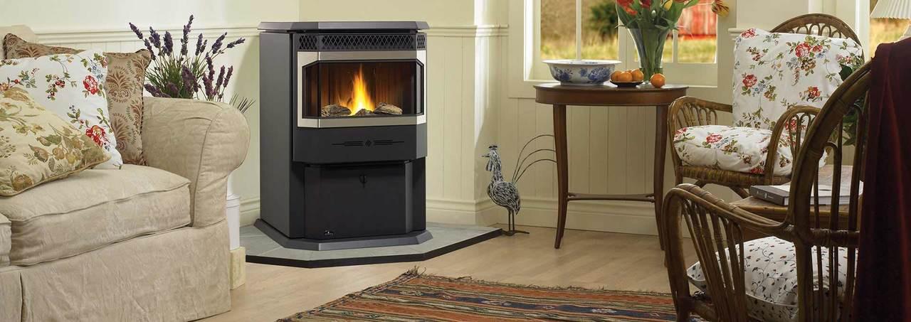 Regency Greenfire Medium Free Standing Pellet Stove - GF55