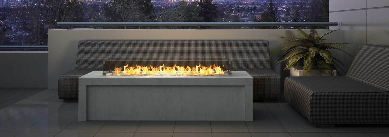 Regency Plateau PTO60 Outdoor Gas Burner - Embers ... on Embers Fireplaces & Outdoor Living id=33109