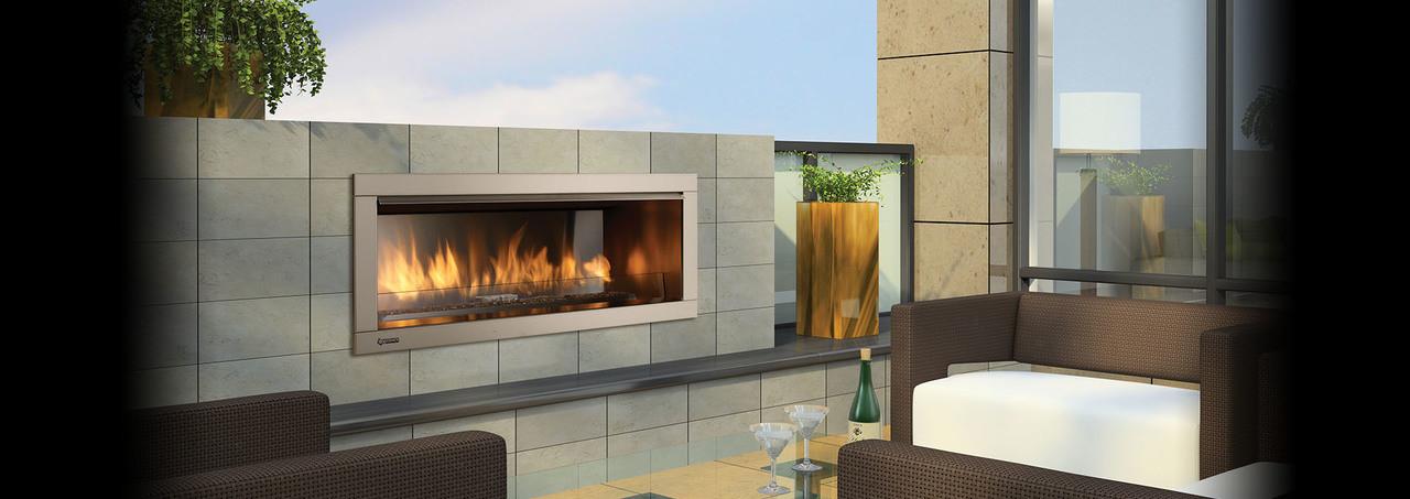Regency Horizon HZO42 Contemporary Outdoor Gas Fireplace