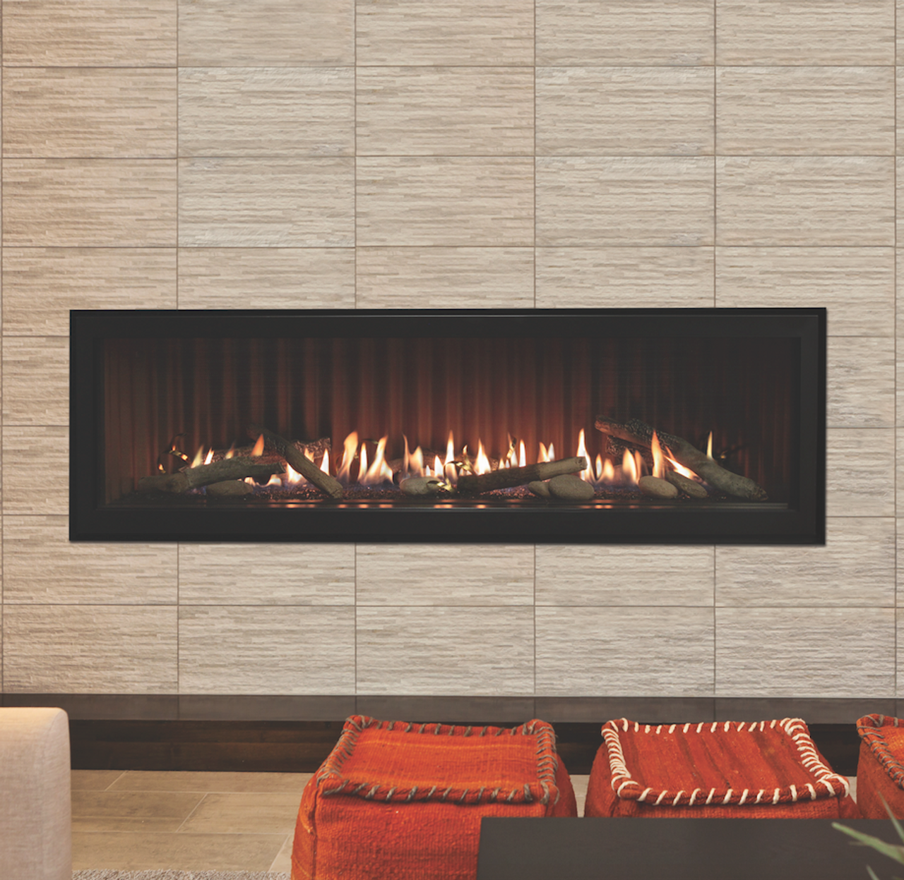 Empire Boulevard Linear Direct Vent Fireplace DVLL60