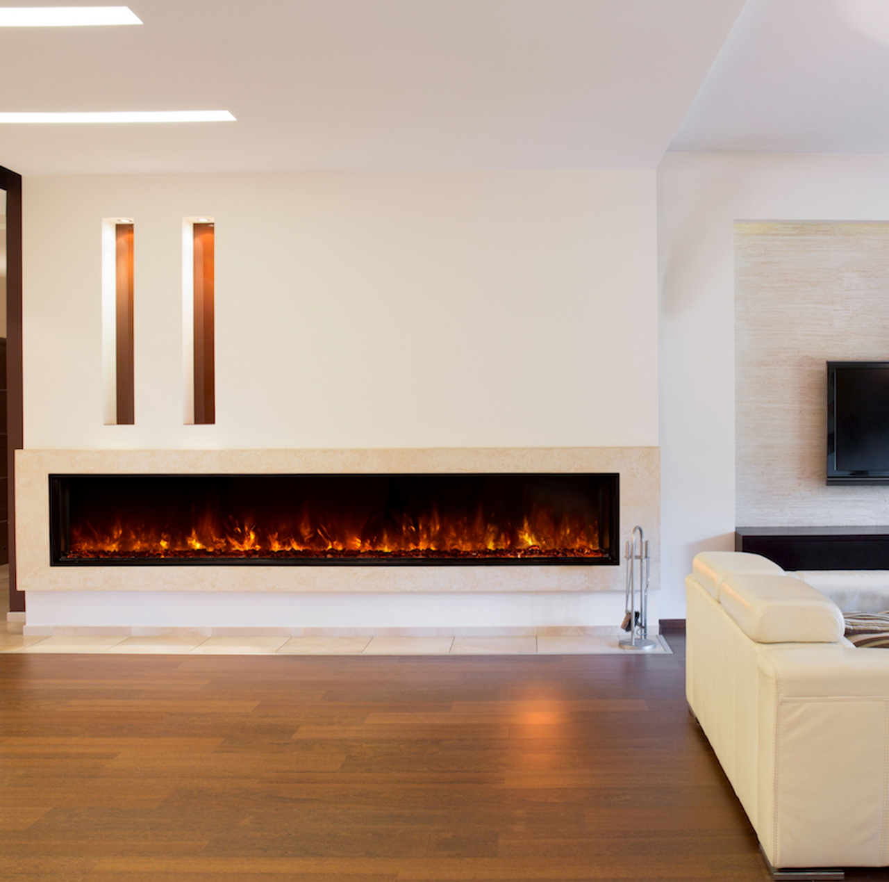 Modern Flames Landscape FullView 2 Series Built-in Clean Face Electric Fireplace - LFV2-60/15-SH