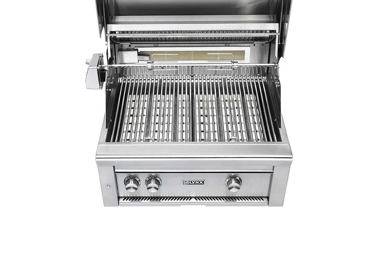 """Lynx 30"""" Built-In Grill with Rotisserie"""
