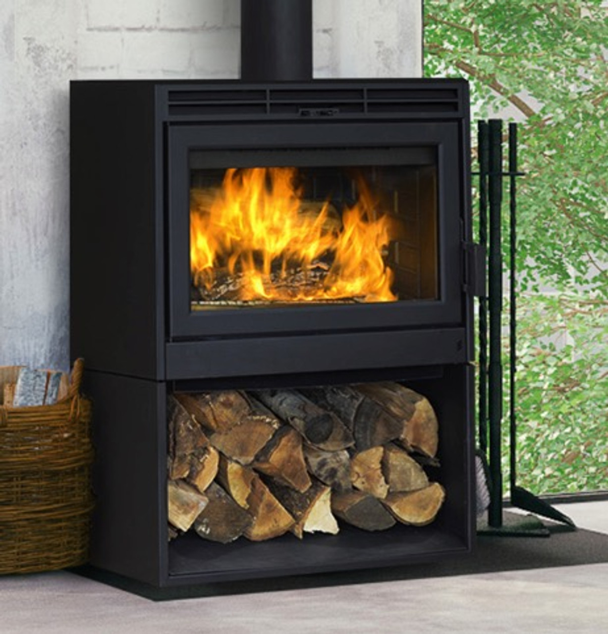 Buy Supreme Novo 38 Free Standing Wood Burning Stove Embers Living