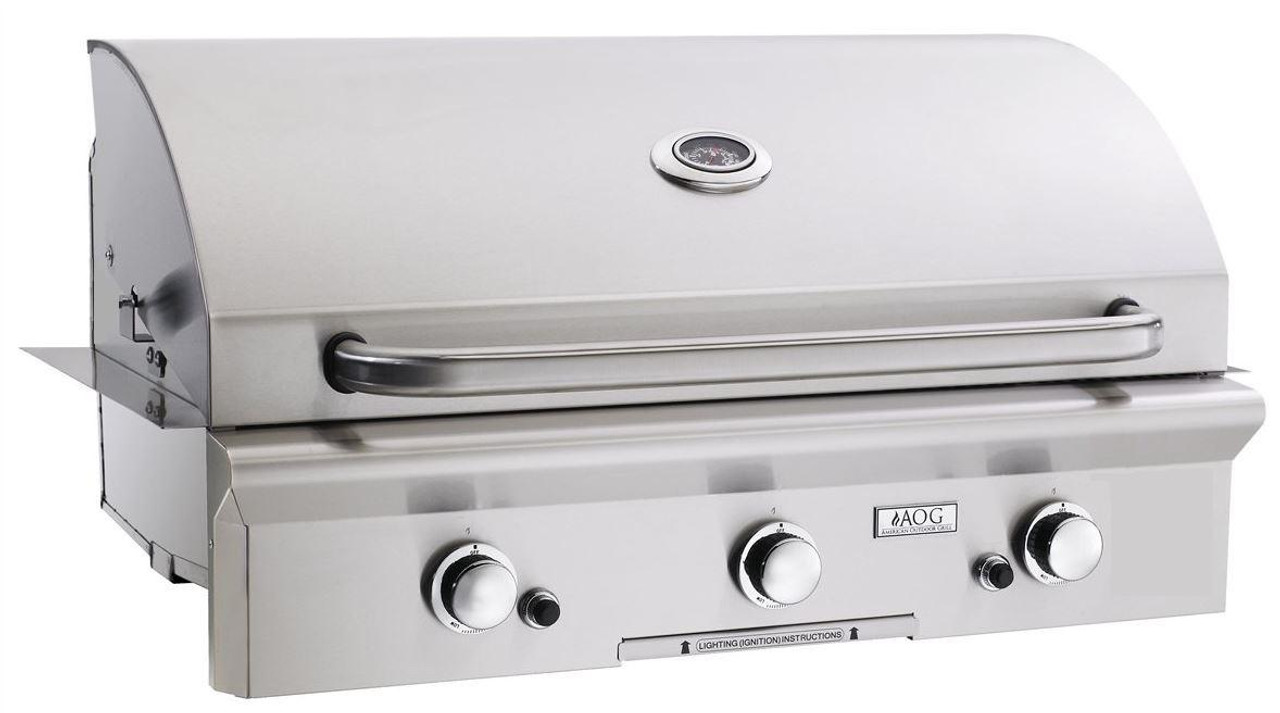 """AOG 36"""" T-Series Built-in BBQ - Primary Cooking Surface 648 sq. inches"""