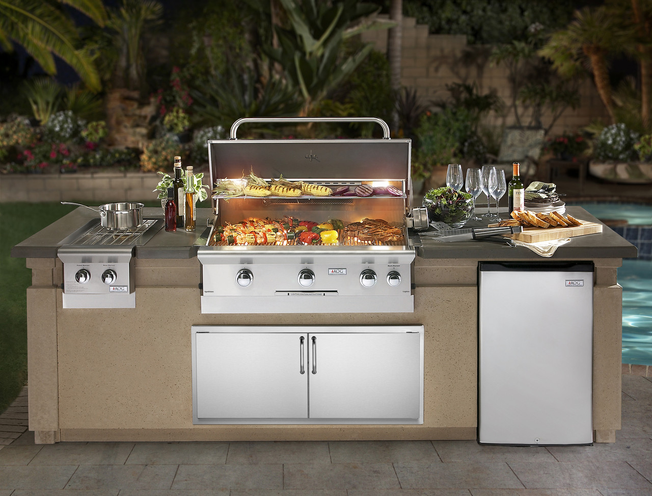 AOG Grills add Style & Cooking excellence to your Outdoor Kitchen