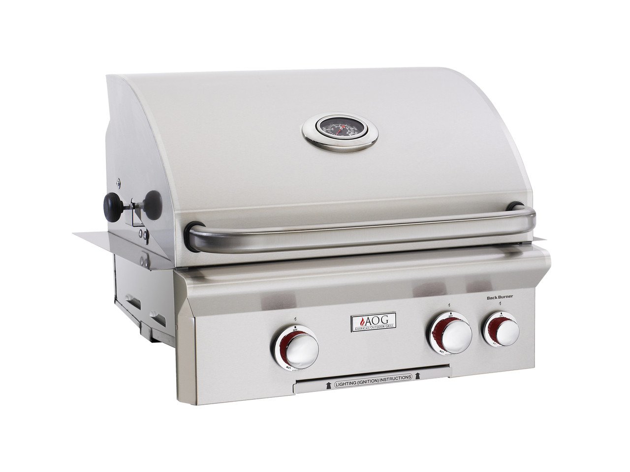 """AOG 24"""" T-Series Built-in BBQ - Primary Cooking Surface 432 sq. inches"""