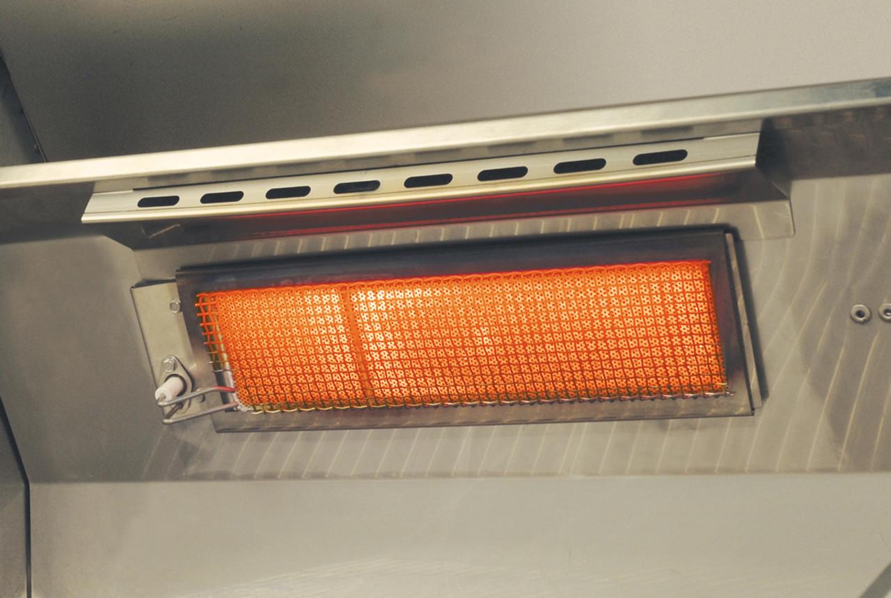 AOG Optional Infrared Back Burner