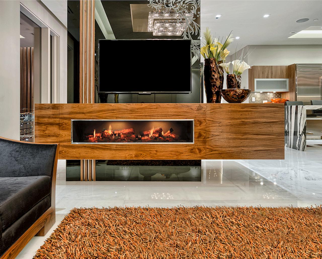 Dimplex Opti-V Duet Linear Electric Fireplace