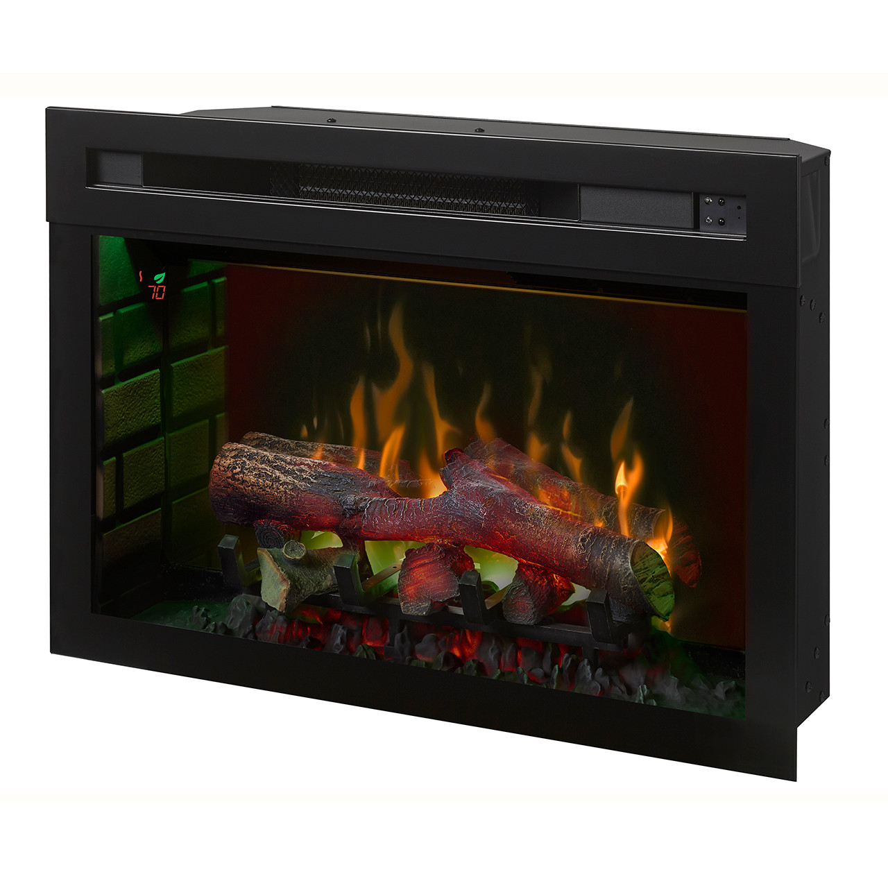 "Dimplex 25"" Multi-Fire XD Electric Firebox w/ Logs - Green"