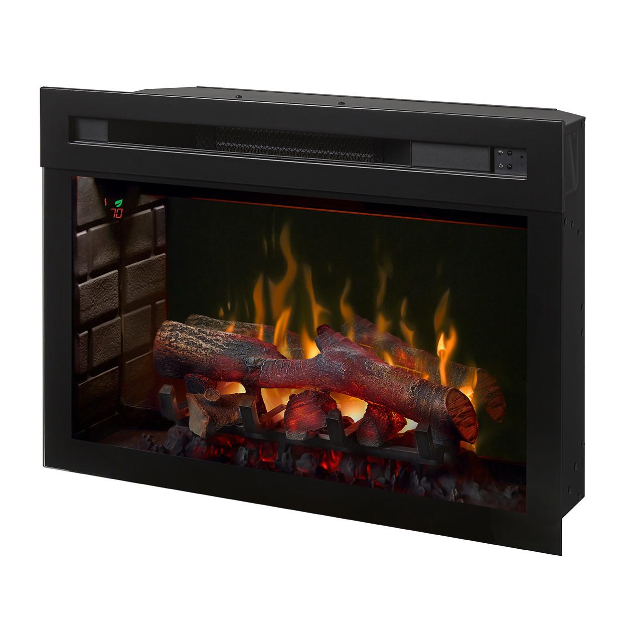 """Dimplex 25"""" Multi-Fire XD Electric Firebox w/ Logs - Natural"""