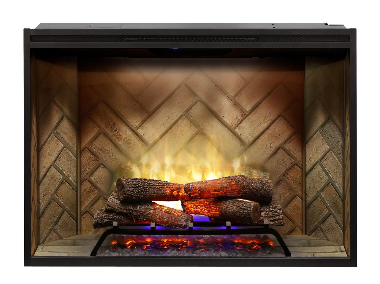 "Dimplex Revillusion 42"" Built-In Electric Firebox"