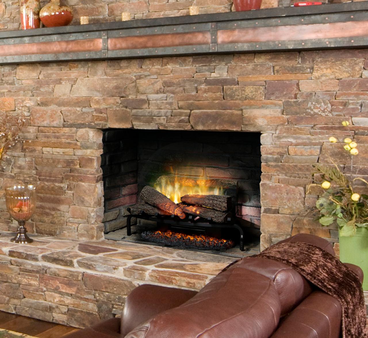 Outstanding Dimplex 25 Revillusion Masonry Fireplace Electric Log Set Rlg25 Interior Design Ideas Gentotryabchikinfo