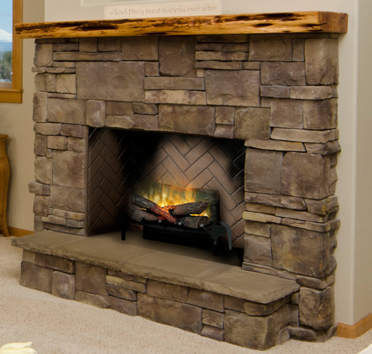 Dimplex 20 Revillusion Masonry Fireplace Electric Log Set Rlg20