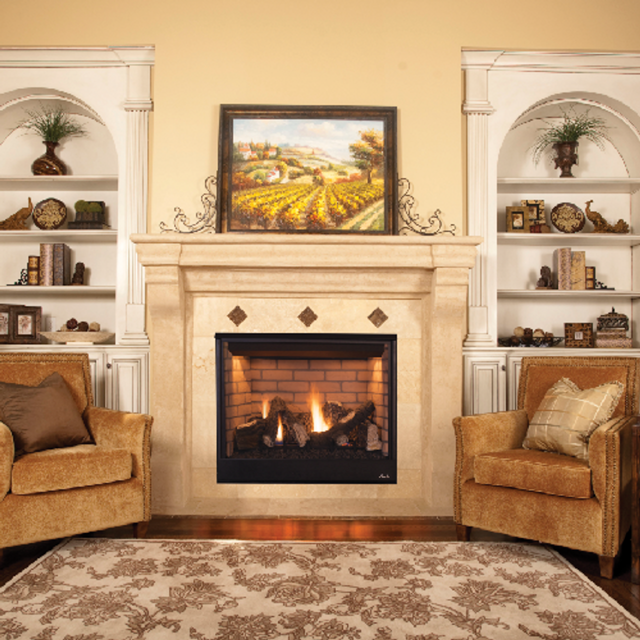 """Superior 35"""" Gas Direct Vent Fireplace - DRT3535"""
