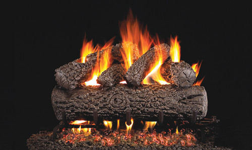 Realfyre G45 Burner System w/ Classic Series Standard Gas Log Sets