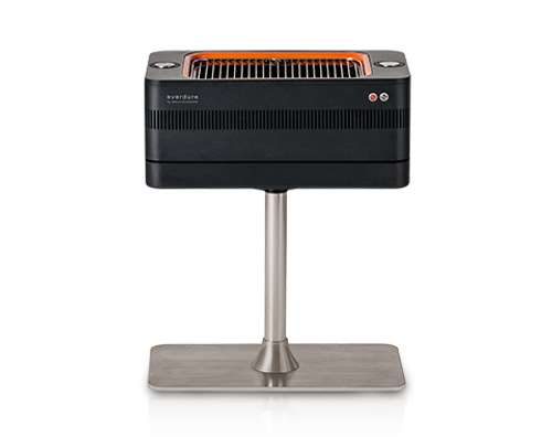 Everdure FUSION Electric Ignition Charcoal Barbeque with Pedestal - Heston Blumenthal