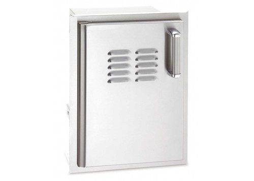 Firemagic Premium Flush Mounted Single Access Door w/Tank Tray & Louvers - 53820SC